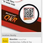 MasterCard is working with retailers to drive m-commerce via QR codes